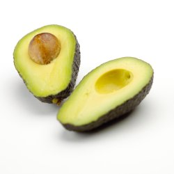 raw avocado